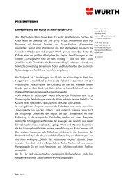 Nähere Informationen zum Wandertag der Kultur im Main-Tauber ...