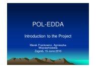 (Microsoft PowerPoint - POL-EDDA_presentation2.ppt [tryb zgodno ...