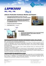 LSPM3000 - ECM ECO Monitoring