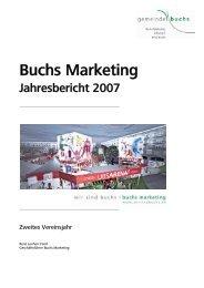 Weitere Informationen - Buchs Marketing