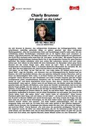 Charly Brunner - adlmann promotion