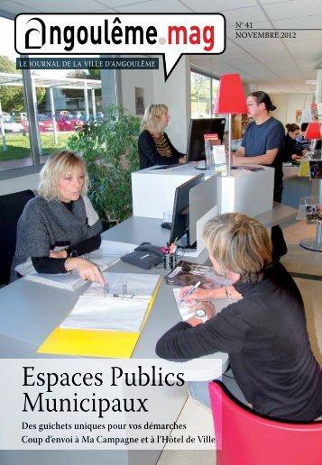 Espaces Publics Municipaux - Angoulême