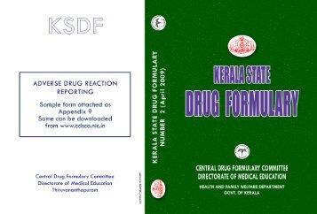 Kerala State Drug Formulary.pdf