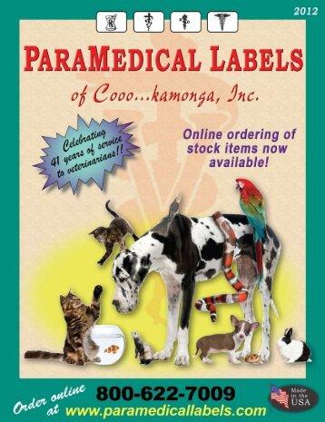 ParaMedical Labels