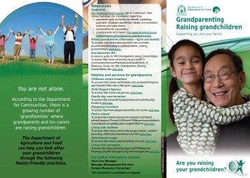 Work-Life Balance - Raising Grandchildren - Public Sector ...