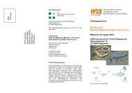 Monitoring – Bauwerksüberwachung in der Praxis - WTA-Schweiz