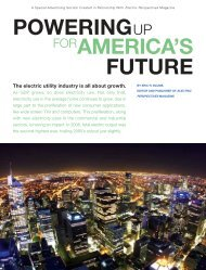 Powering Up for America's Future - Forbes Special Sections