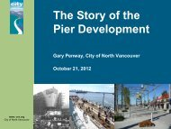 The Story of the Pier Development - The North Van Urban Forum