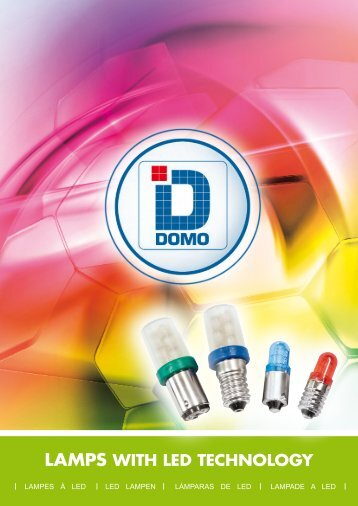 LAMPS WITH LED TECHNOLOGY - Domo