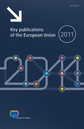 Key publications of the European Union - Europa