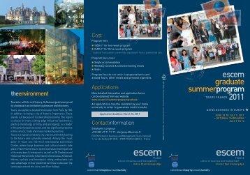 LEAFLET SUMMER PROGRAMM 2010 - stroBlog