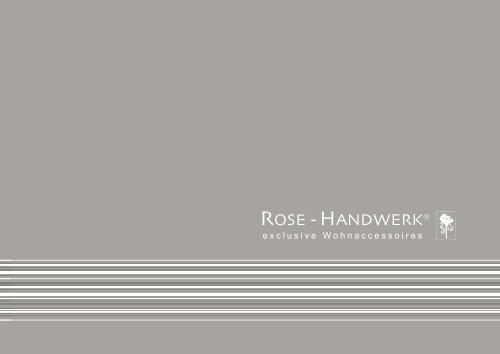 Katalog Download ROSE-HANDWERK