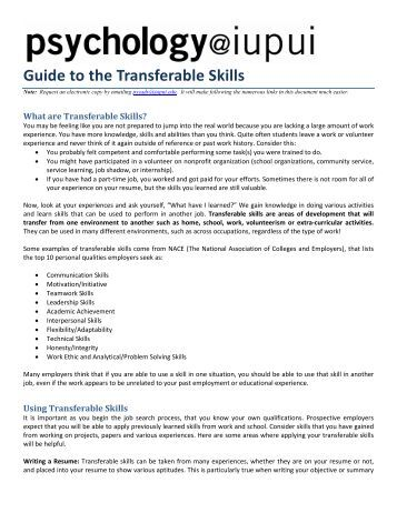 Worksheets Transferable Skills Worksheet evidencing transferable skills in music education guide to the skills