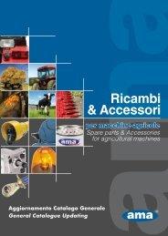 Ricambi & Accessori  - Ama