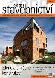 zděné a smíšené konstrukce - Časopis stavebnictví