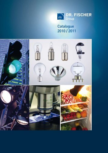 DF Catalogue 2010_Special Lamps.pdf - DR. FISCHER Gruppe