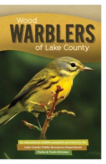 Wood Warblers of Lake County (Field Guide)