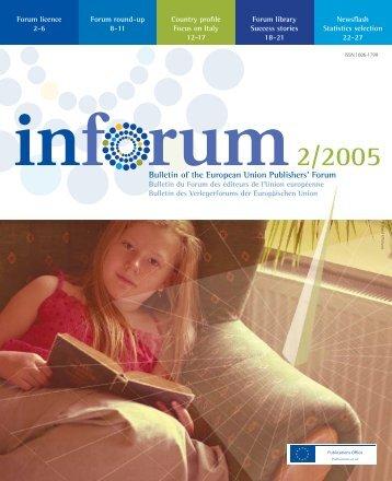 Bulletin of the European Union Publishers' Forum - Amt für ...
