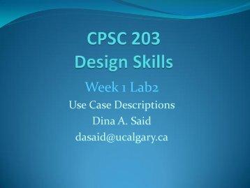 Description - University of Calgary Wiki