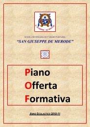 pof medie 2010-11.pdf - Collegio San Giuseppe - Istituto De Merode