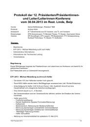 Protokoll PLK, 30.04.13 (PDF) - Turnverband Bern Mittelland
