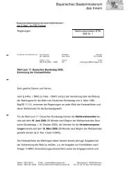 R - Wahlen - Bayern
