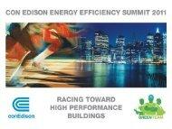 Con Edison Commercial & Industrial Energy Efficiency Program