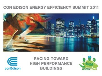Con Edison Commercial & Industrial Energy Efficiency Program