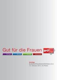 Gut für die Frauen - SPÖ Bundesfrauen