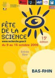 BAS-RHIN - CNRS Alsace