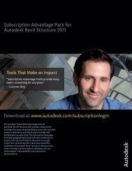 Subscription Advantage Pack for Autodesk Revit Structure 2011 ...