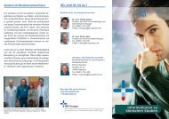 Informationen zu klinischen Studien - Brüderkrankenhaus St. Josef ...