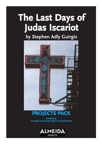 The Last Days of Judas Iscariot - Almeida Theatre