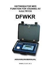 Instruktion DFWKR.pdf - Vetek