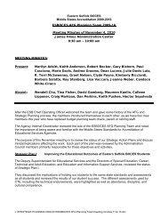 ESBOCES AFG Meeting Minutes 11-4-10 - Eastern Suffolk BOCES