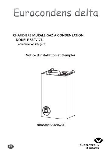 CHAUDIERE MURALE GAZ A CONDENSATION ... - Domotech