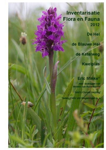 Literatuur - KNNV Vereniging voor Veldbiologie