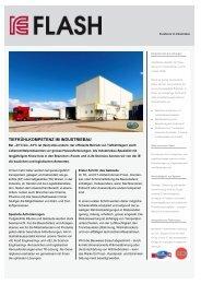 IE Flash 8/2013 - IE Engineering Group AG