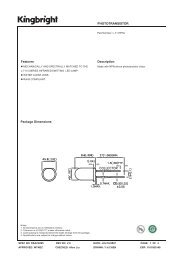 PHOTOTRANSISTOR Features Description Package ... - Oomlout