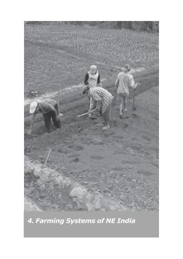 Chapter 4 - Farming Systems of NE India - ICAR, Zonal Project ...