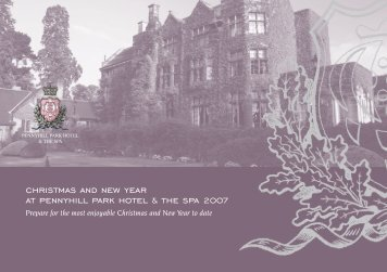 christmas and new year at pennyhill park hotel & the spa 2007