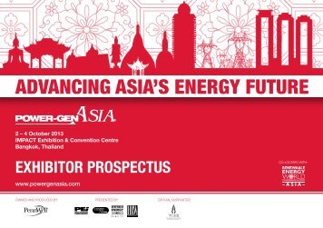 to download the Exhibitor Prospectus - Power-Gen Asia