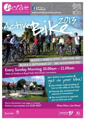 Active Bike 2013 - Active Launceston