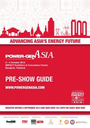 PRE-SHOW GUIDE - Power-Gen Asia