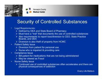 Presentation - Security of Controlled Substances HCMC