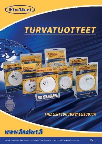 Esite - Tuotteet - Fin-Alert Electronics Oy