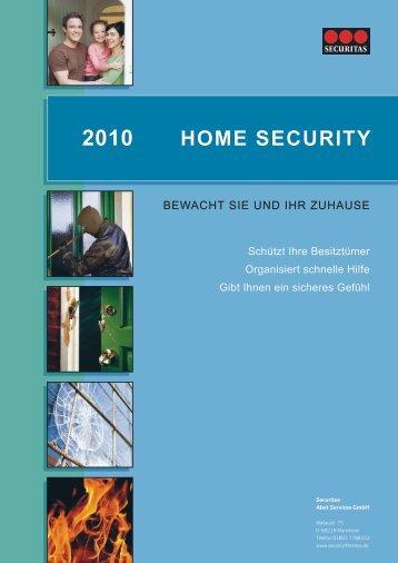 home security 2010 - Securitas