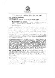 Pre-Contract Disclosure Statement - Section 146 ... - campaigntrack