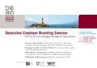 Deutsches Employer Branding Seminar – Wie Sie sich als ...