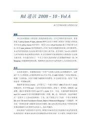 Rd 通讯2008 – 10 - Vol A
